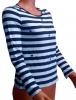 Блузка женская Полоска длинный рукав