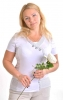 Блузка женская Ирина амиант