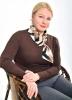 Блузка женская Галстук Каштан